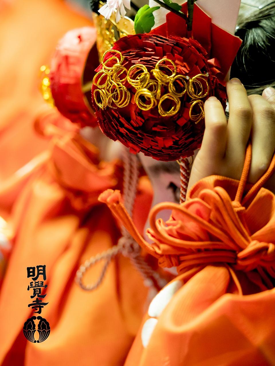 明覺寺 雅楽と童舞